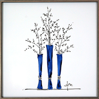 Royal Blue Vases